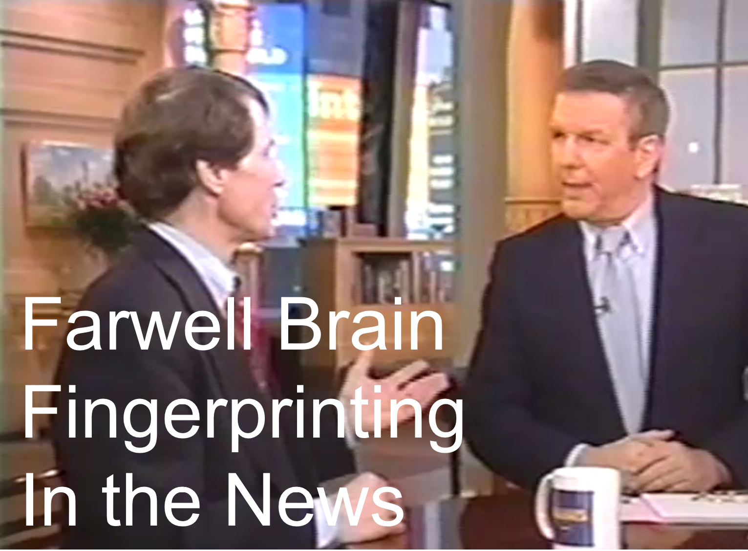 Farwell on Good Morning America - In the News