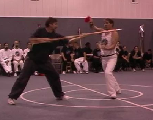 kungfu broadsword vs. speak Larry